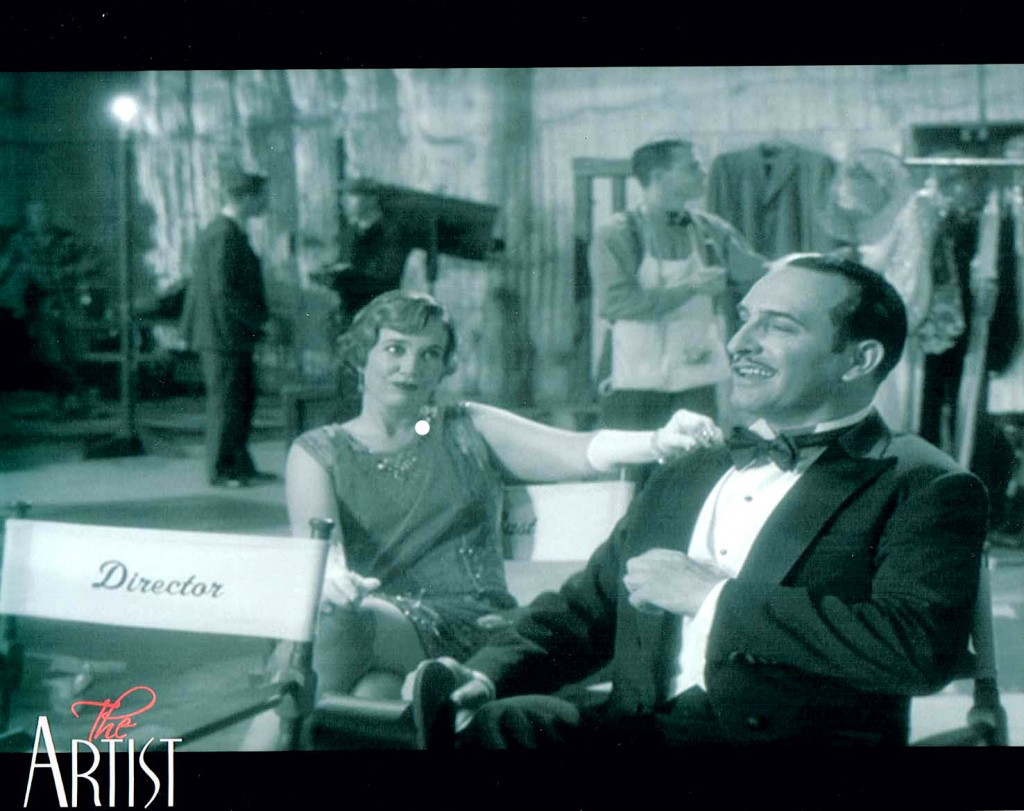 Jewel Shepard and Jean Dujardin in THE ARTIST