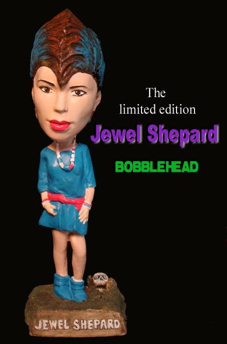 "Limited Edition (of 50) Resin Bobblehead of Jewel as ""Casey"" in RETURN OF THE LIVING DEAD"