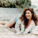 Jewel Shepard on the Beach