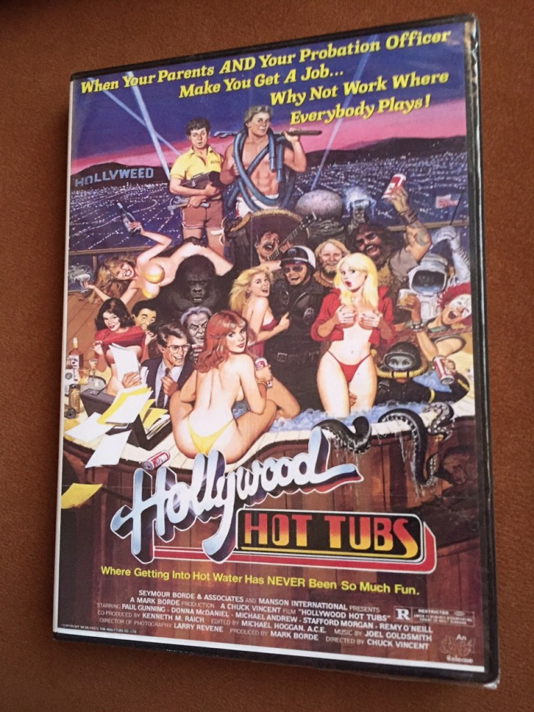Hollywood Hot Tubs DVD