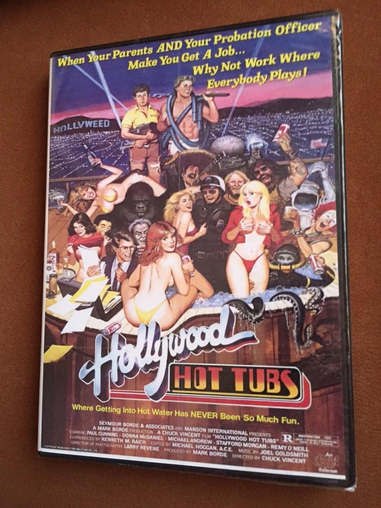 Hollywood Hot Tubs DVD